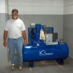 Foghorn Compressor
