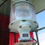 Six sided VRB-25 prior to removal from the DeTour Reef Light lantern.