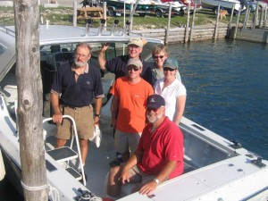 Dave Bardsley with Keepers Donza & Catherine Worden, Michael & Carol Recktenwald & Meade Gable 8-6-06-jeri