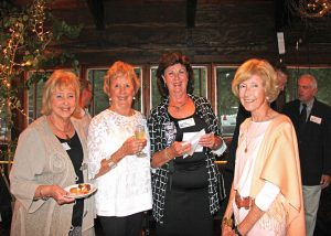 Friendship and fun at Stars.  Deb Bennett, Betty Gerber, Tess Wellstead, and Carol Rahman