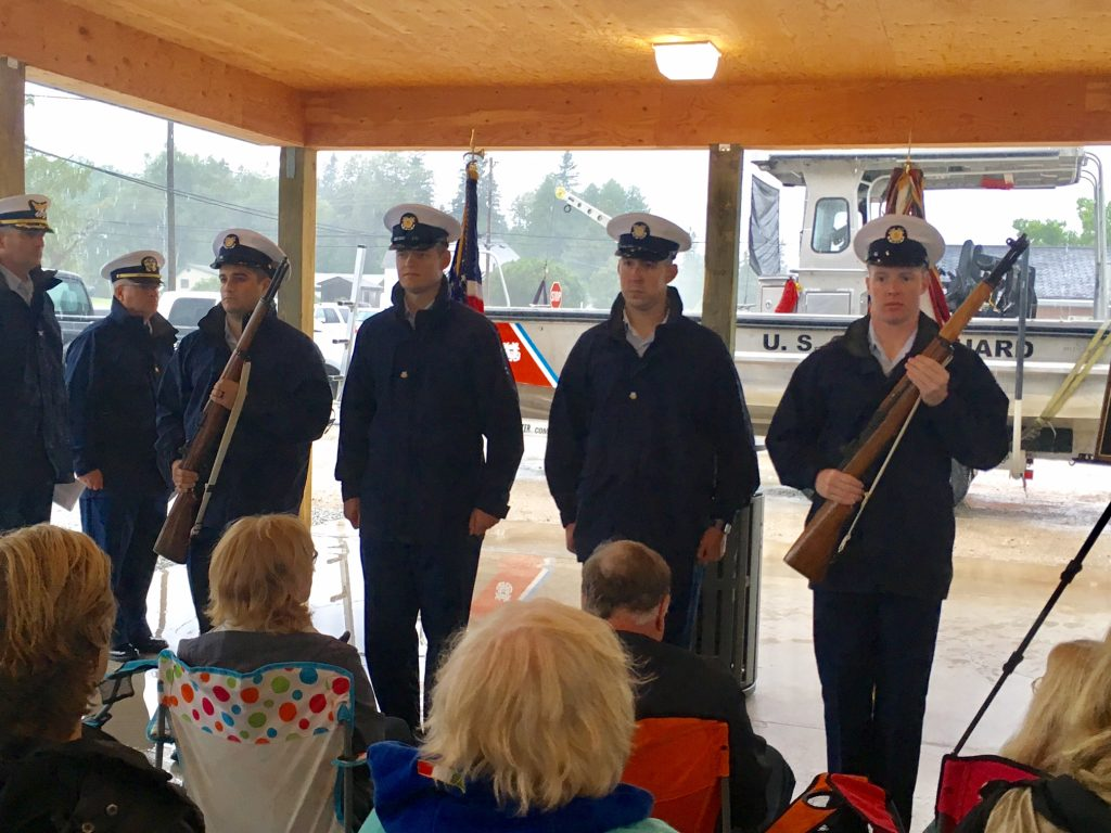Sector Soo USCG Opening the Memorial